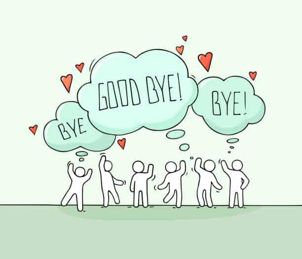 speech for farewell
