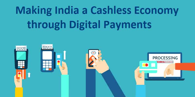 essay on cashless economy