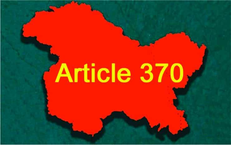 article 370 essay